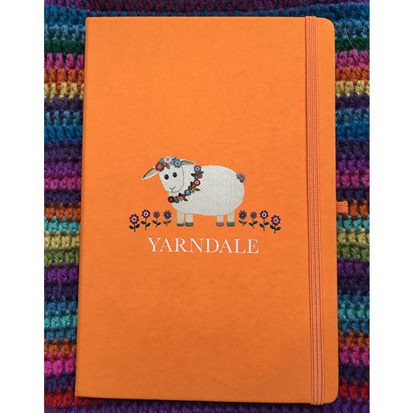 notebook-orange